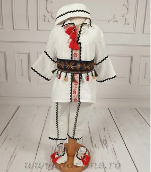 Costum traditional botez Alunel