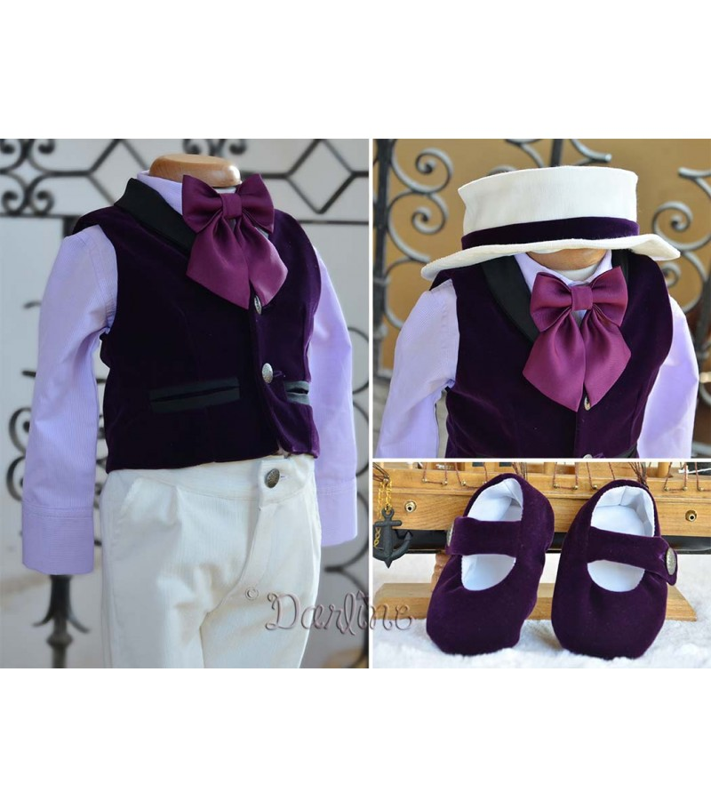 Costumas botez Gentleman Hat